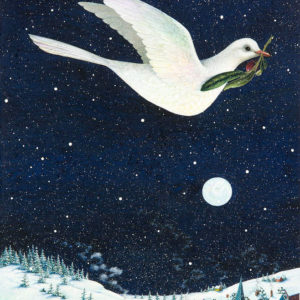 Christmas dove por Lynn Bywaters