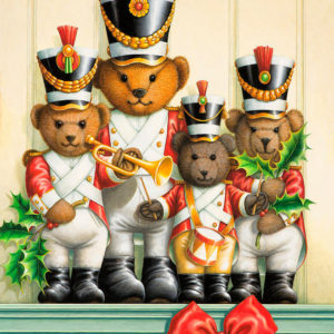 Teddy bear band por Lynn Bywaters