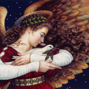 The angel and the dove por Lynn Bywaters