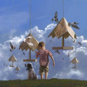 A Subtle Movement of Air por Jimmy Lawlor