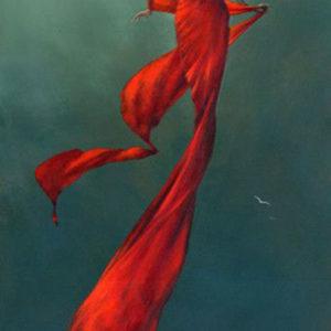 Crimson Breeze por Jimmy Lawlor